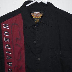 Harley davidson short sleeve mens shirt S J1036